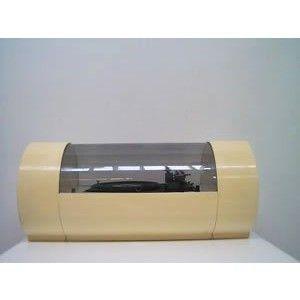Giradischi Paam Tube produttore BRS Inghilterra anni 60 bianco in plastica