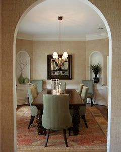 39 best images about decorative wall niche on pinterest for Dining room niche ideas