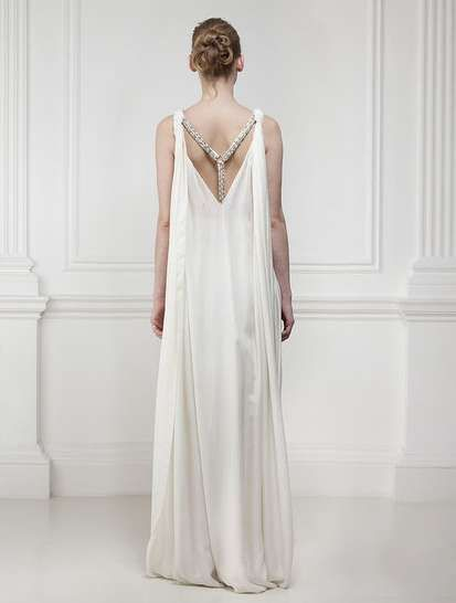 Furry Wedding Gowns : Matthew Williamson 2011 Bridal