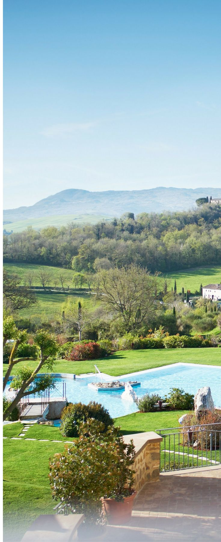 Adler Thermae in Tuscany, Italy   Thermal Hot Springs in Italy   Italian vacation ideas   Italian holiday ideas   Luxury holidays in Italy Tuscan countryside   review of five star Adler Thermae