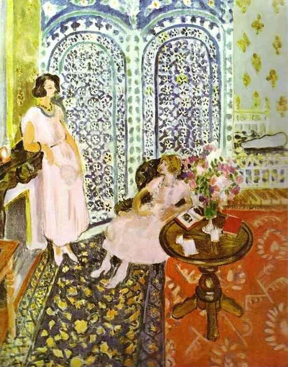 """""""Moorish Screen""""... Henri Matisse"""