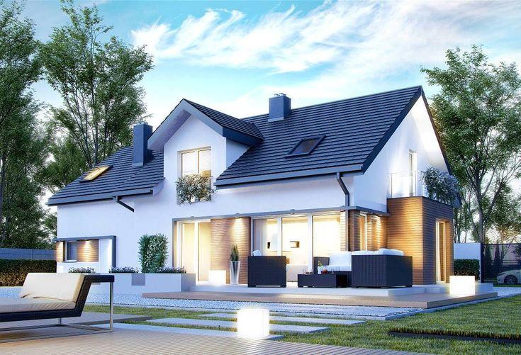 Projekt domu CPT Koncept-21 - DOM CP1-21 - gotowy projekt domu
