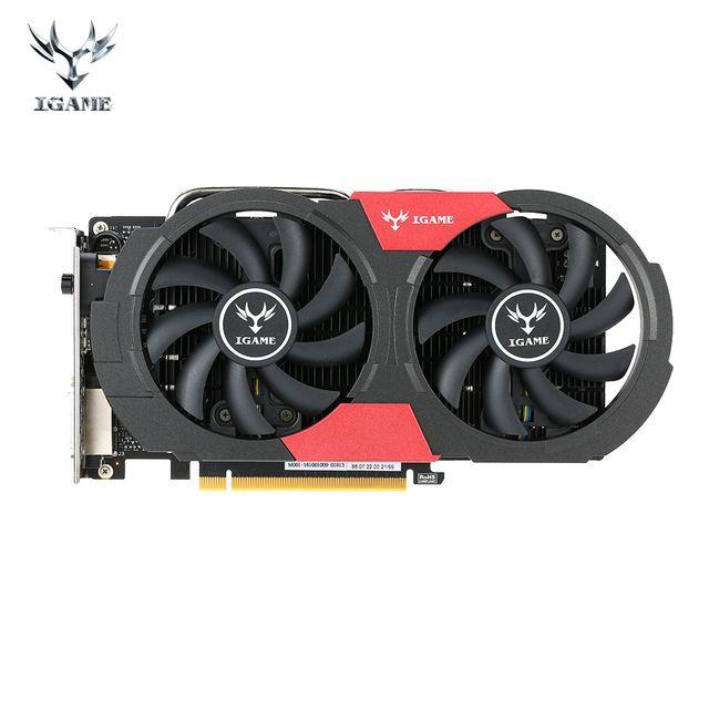 Colorful GTX 1050Ti #NVIDIA #Graphics Card #GeForce iGame GTX 1050Ti #GPU 4GB GDDR5 128bit PCI-E X16 3.0 #Gaming Video Card Desktop