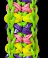 Rainbow Loom Bowtie Bracelet Instructions