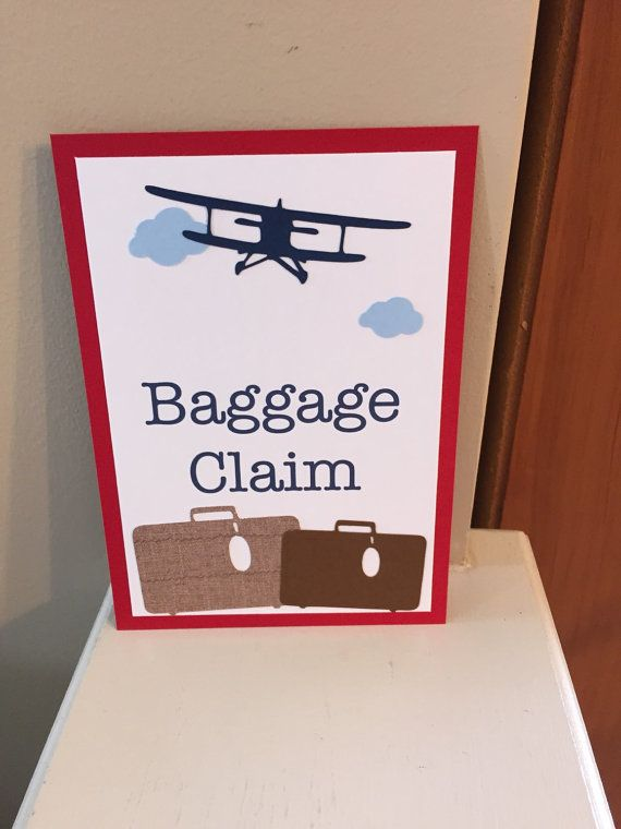 Hey, I found this really awesome Etsy listing at https://www.etsy.com/listing/232133250/baggage-claim-sign-vintage-airplane