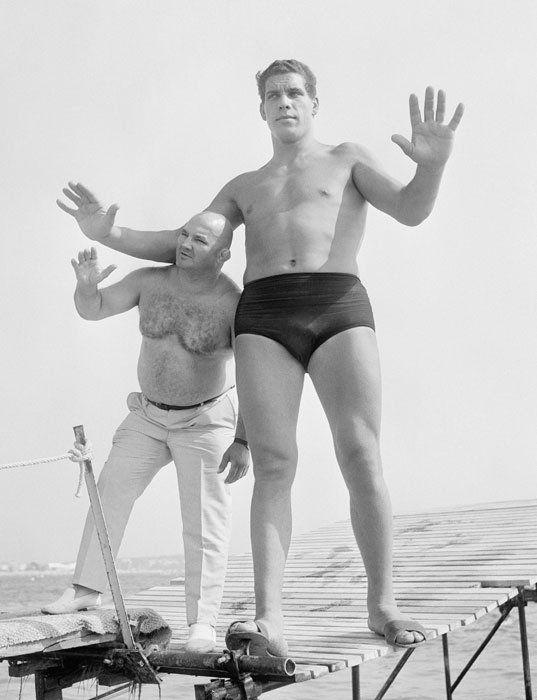 This is what Andre the Giant looked like in 1967 at age 19