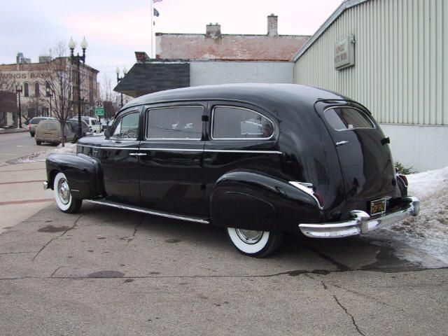Hearseworks 1946 Cadillac Limousine Style Hearse By