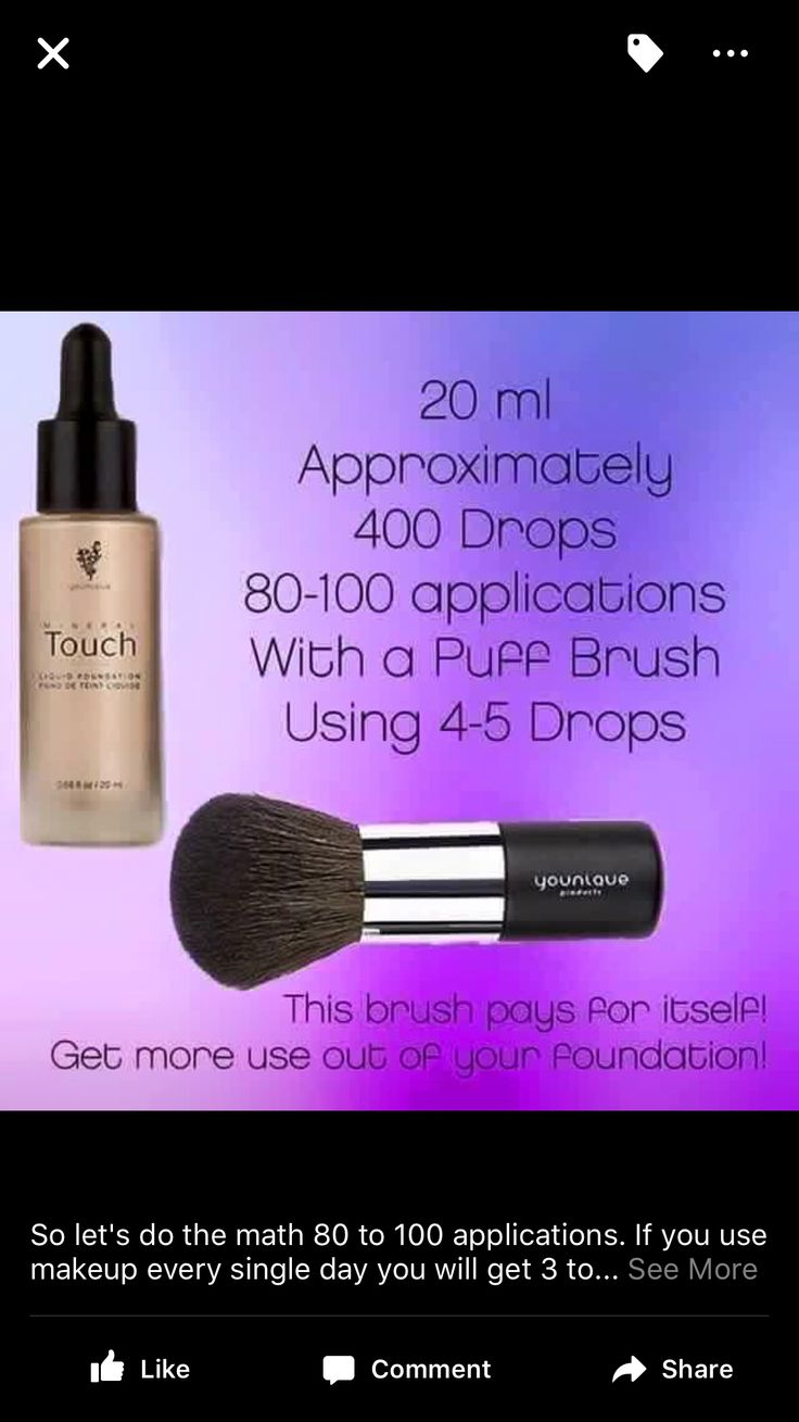 Why don't you already have this?! Younique mineral touch liquid foundation had the most amazing coverage with a natural finish