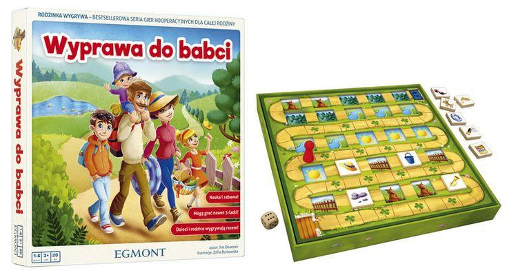 Egmont, gra edukacyjna Wyprawa do Babci - Egmont | Zabawki empik.com