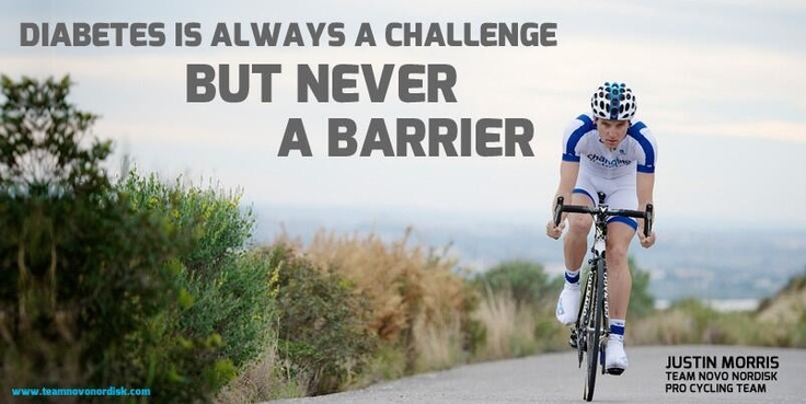 Team Novo Nordisk: Diabetes is always a challenge, but never a barrier #changingdiabetes #diabetes #teamnovonordisk #cycling