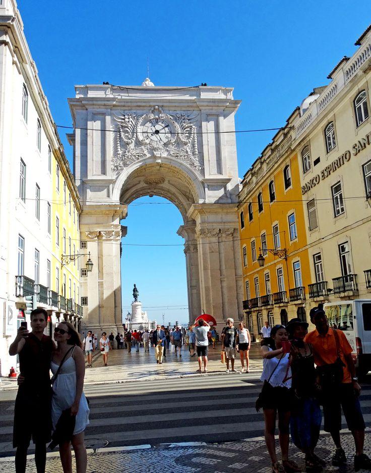 Beautiful View of Lisbon Centre