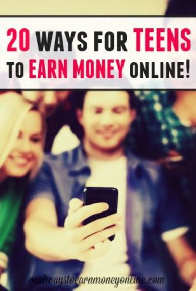Do you have a teen needing to earn money online? Here's a list of 20 things your teen can do to make a little extra money at home using their computer or smartphone.