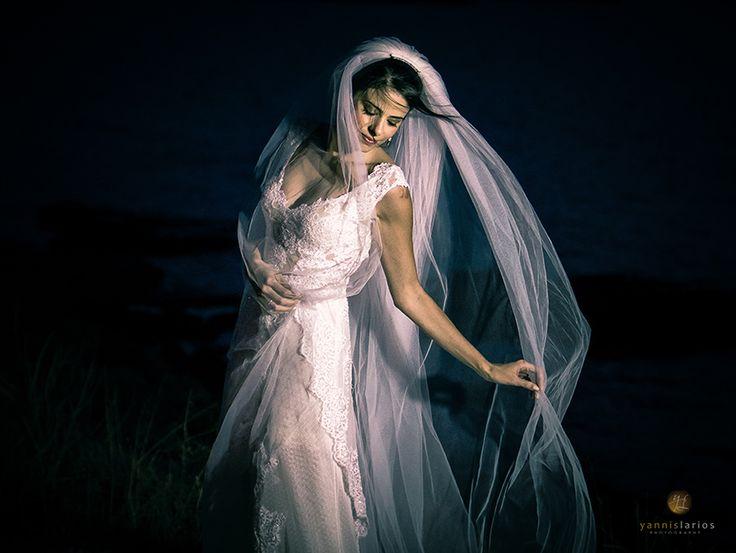 Φωτογράφιση γάμου - πορτραίτο νύφης