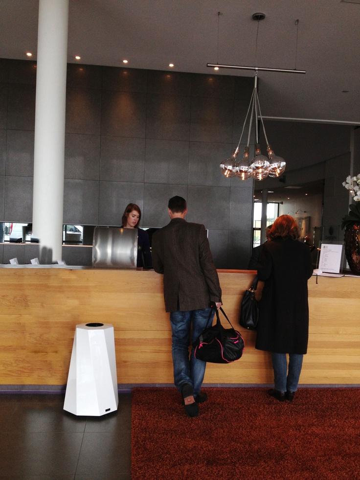 The Butler Bin at Sankt Jörgen Spa, Gothenburg. http://jangirmaddadi.se/butler/