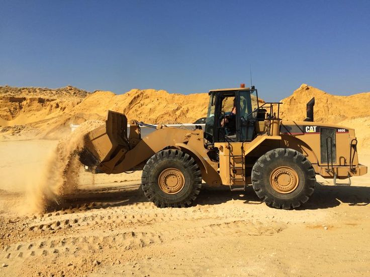 This is our Cat 980G Front-End Loader.
