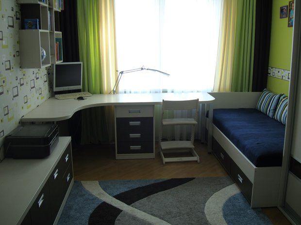 Детская: комната для мальчиков девяти и полутора лет