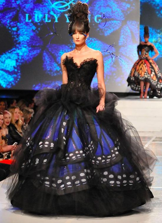 Tulle Butterfly Dress - so unique and different
