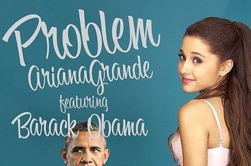 President Obama Has Got One Less Problem Because He's Singing Along To Ariana Grande