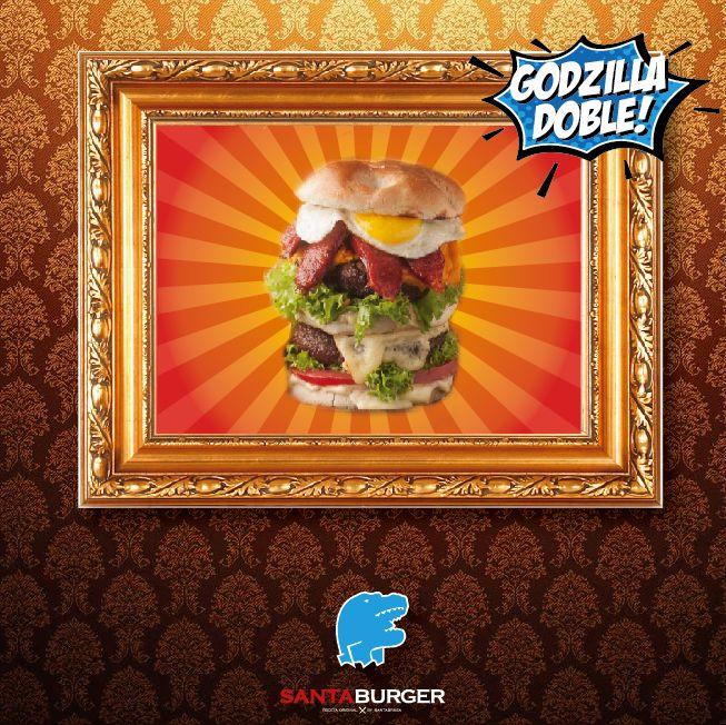 #GodzillaBurger!!