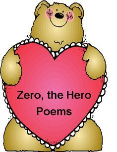 zero the hero poems for each 10th day of school