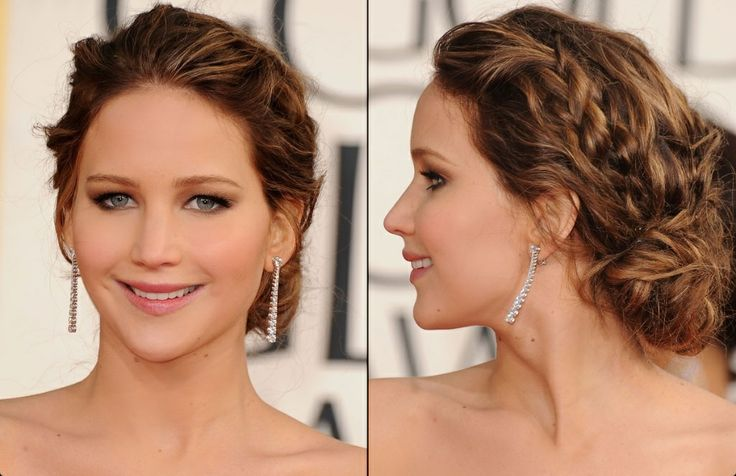 Remarkable Bun Hairstyles Jennifer Lawrence And Jennifer O39Neill On Pinterest Hairstyles For Men Maxibearus