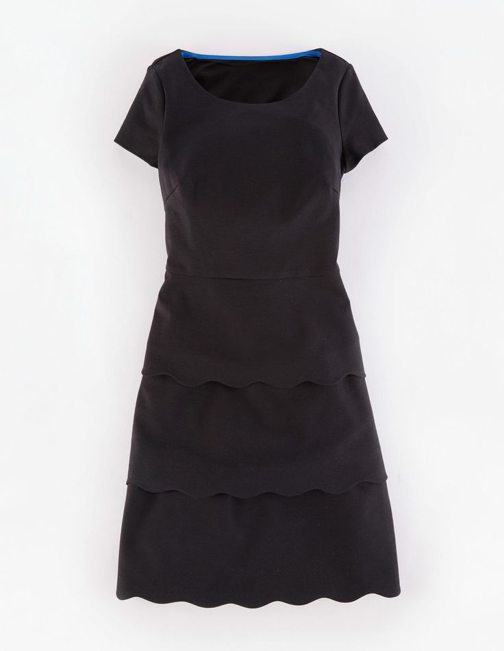 Boden scallop shift dress we ve used smooth ponte jersey for Boden jersey dress