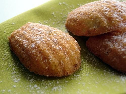 orange blossom water madeleines more french food pistachio and orange ...