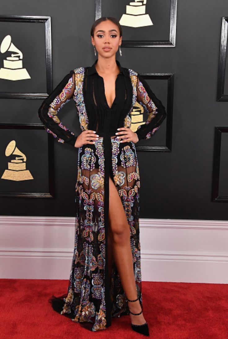 Vogue named her one of the best dressed on the red carpet at the grammy s awards