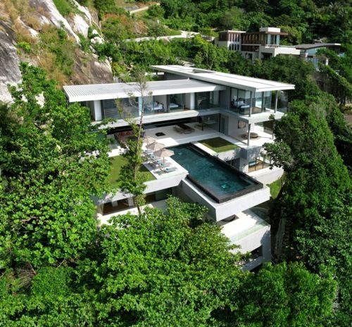 Villa Amanzi // Original Vision Architecture