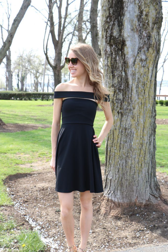 Sassy, chic, and classic LBD on sale from Misguided !