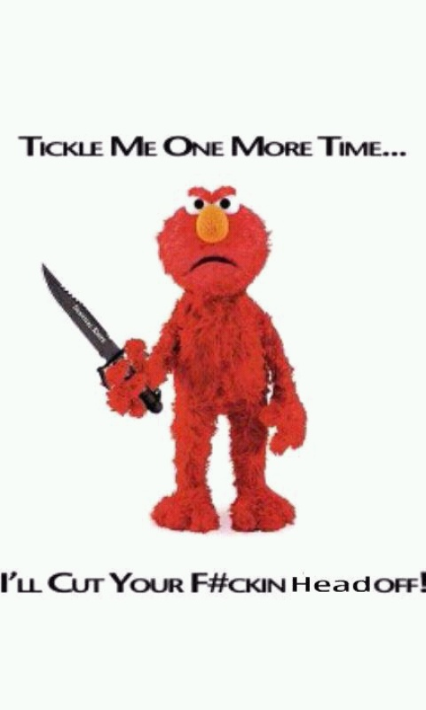 fuck Kimmel baby elmo you