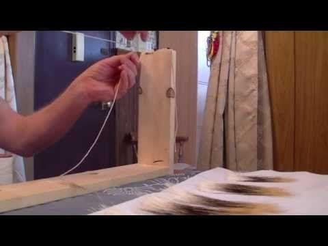 Nancy Today: Quillwork nameplate Birchbark - YouTube