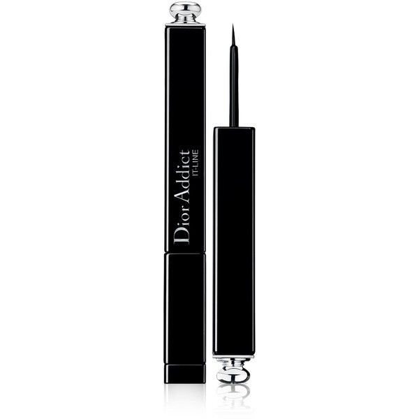 DIOR Dior Addict It-Line (€28) ❤ liked on Polyvore featuring beauty products, makeup, eye makeup, eyeliner, christian dior, glossy eye makeup, gel eye liner, christian dior eyeliner and gel eyeliner