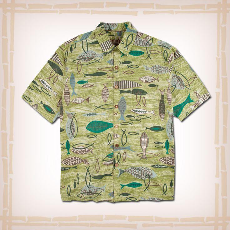 62 best kahala hawaiian shirts images on pinterest for Fish hawaiian shirt