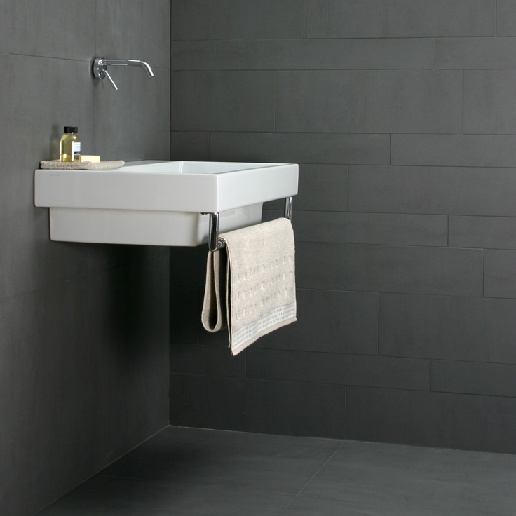 50 best images about badkamer on pinterest paint for bathroom bathroom inspiration and tile - Badkamer tegel helderwit ...