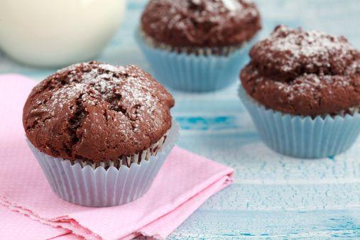Muffin alla nutella e cocco