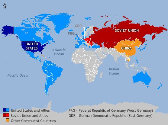 an analysis of the cold war between the united states and the soviet union The cold war was a state of geopolitical tension after world war ii between powers in the eastern bloc (the soviet union and its satellite states) and powers in the western bloc (the united states, its nato allies and others.