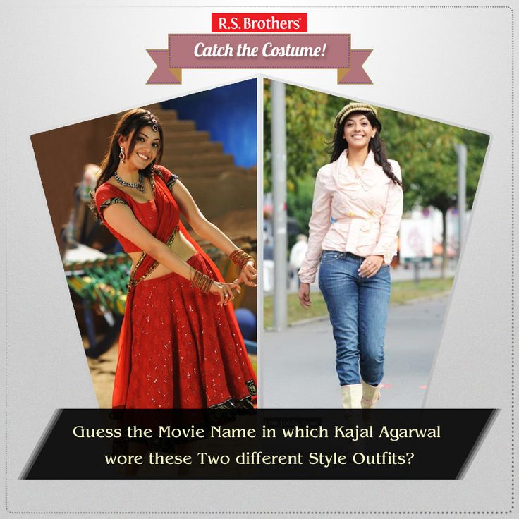 ‪#‎Catch‬ The ‪#‎Costume‬ Guess the Movie name? In which Movie SouthIndian Actress ‪#‎KajalAgarwal‬ wore these Beautiful & Stylish ‪#‎Outfits‬ ? Share your answers in comments. (Image copyrights belong to their respective owners)
