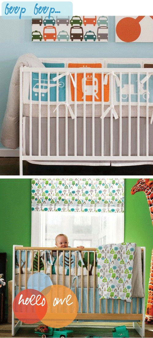 I really love the patterned curtain in the lower photo. Also, what's with the giraffes?