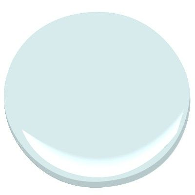 Benjamin Moore morning sky blue 2053-70