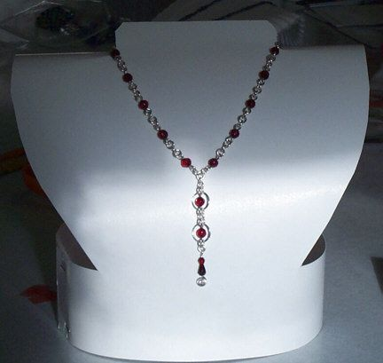 17 do it yourself necklace pinterest do it yourself display ideas for tight budgets i feel like i closed my jewelry solutioingenieria Images