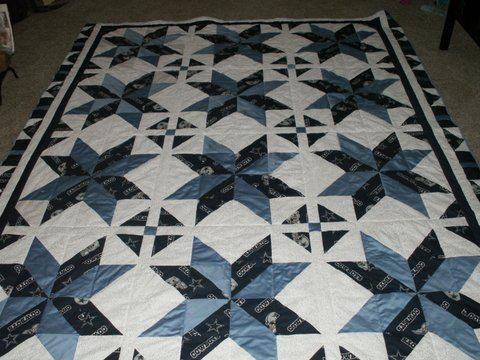 Dallas Cowboys Fabric With A Lighter Blue Amp White In The