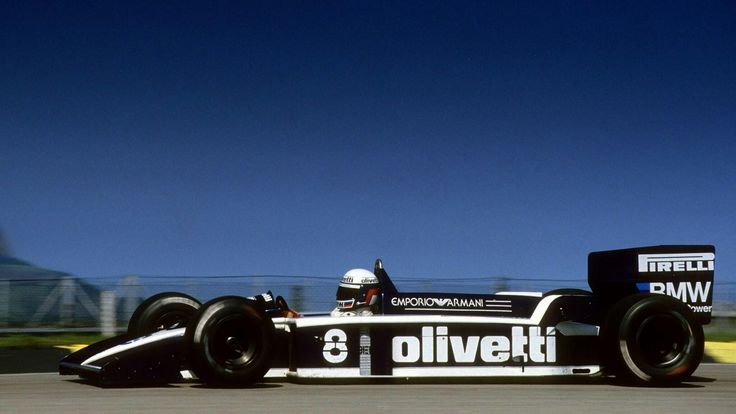 #8 Elio De Angelis...Motor Racing Developments Ltd...Brabham BT55...Motor BMW M12/13 L4 t 1.5...GP Brasil 1986
