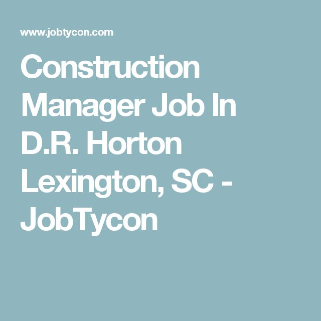 25+ beste ideeën over Construction manager op Pinterest - construction manager job description