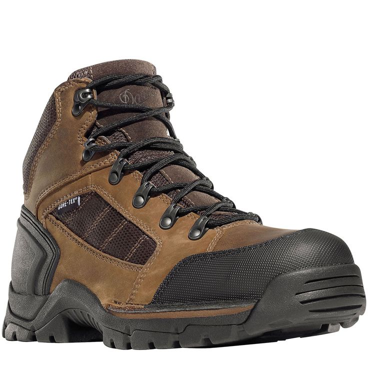 Men's Work Boots For Sale Danner 453 GORE TEX EH Men Steel Toe Brown Full Grain Leather 37500 Designer For Sale