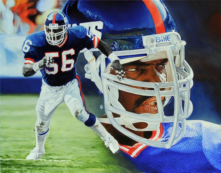Lawrence Taylor of the New York Giants, he had his share of off the field issues but he had two things going for him. One, he's a Tarheel and Two, he's the best outside linebacker I've ever seen.  I can't think of a linebacker I would want more than him...