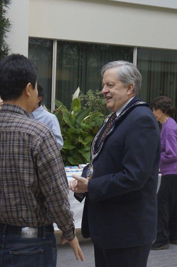 In Conversation with Mayor Rob Burton