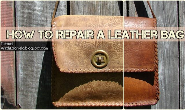 leather handbag diy
