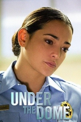 """Natalie Martinez as Deputy Sheriff Linda Esquivel of Chester's Mill in """"Under the Dome"""" (CBS series) based on the book of the same name by Stephen King"""