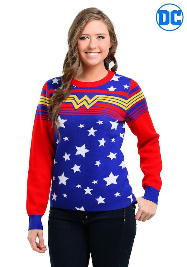 These DC Comics Sweaters Are Super Festive